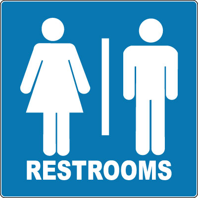 Http Stonehousesigns Com Product Trail And Boundary Sign Restrooms Unisex Symbol