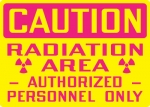 OSHA Radiation Hazard Safety Signs from Stonehouse Signs
