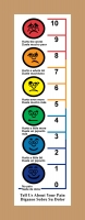 Create a custom pain scale dry erase board with colors for your hospital rooms!