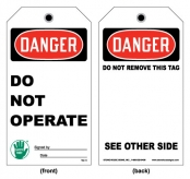 Safety Tags and Accident Prevention Tags- Lightning Fast!