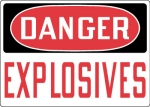 OSHA Hazardous Chemicals and Materials Safety Signs from Stonehouse Signs