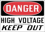 OSHA Electrical Safety Signs from Stonehouse Signs