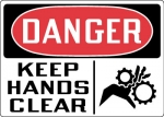 OSHA Equipment and Operational Safety Signs from Stonehouse Signs