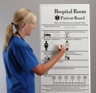 Hospital Patient Room and ER or Nursing Scheduling Boards.