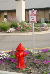 Keep your fire lanes clear in case of an emergency with a No Parking Fire Lane Sign from Stonehouse Signs!