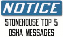 Stonehouse Top OSHA Messages