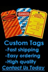 Stonehouse Signs Custom Safety Tags