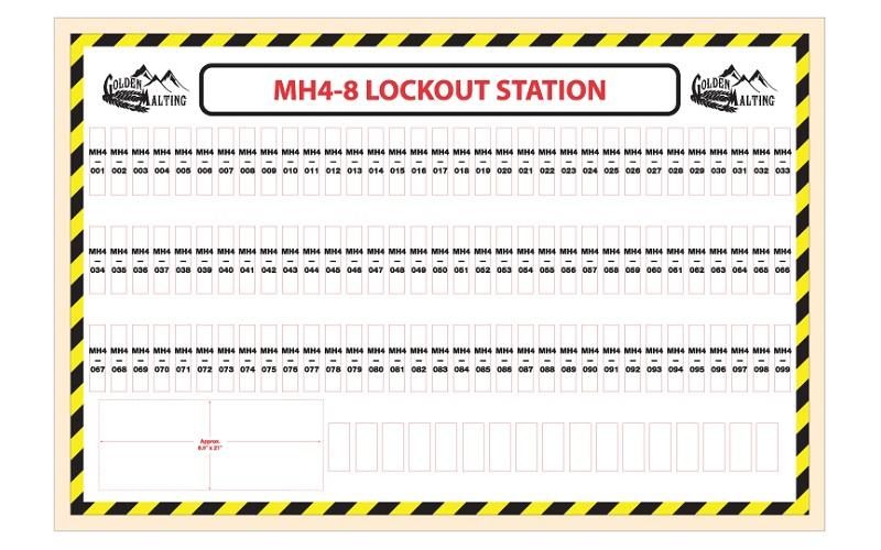 Custom Lockout Station Boards Stonehouse Signs