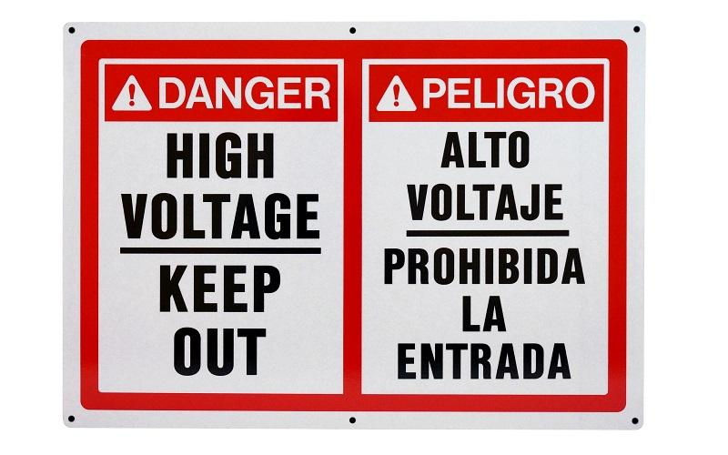 Stonehouse Signs Custom Bilingual English-Spanish Signs
