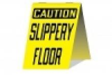 Stonehouse Signs Caution Slippery Floor Sign Workplace Safety Sign