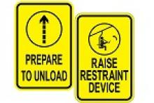 Stonehouse Signs ANSI Compliant Ski Lift Signs