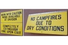 Stonehouse Signs Custom Easy Flip Hinged Signs