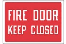 Stonehouse Signs Fire Door Keep Closed Sign