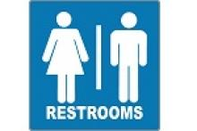 Stonehouse Signs Unisex Restroom Signs